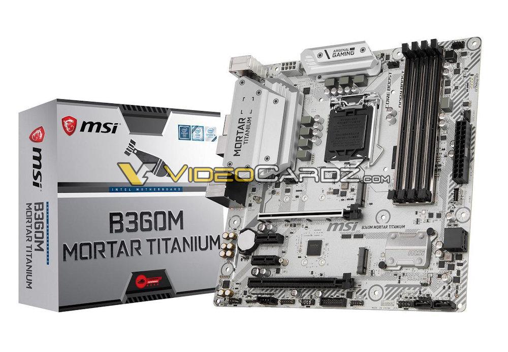 MSI B360M Titanium