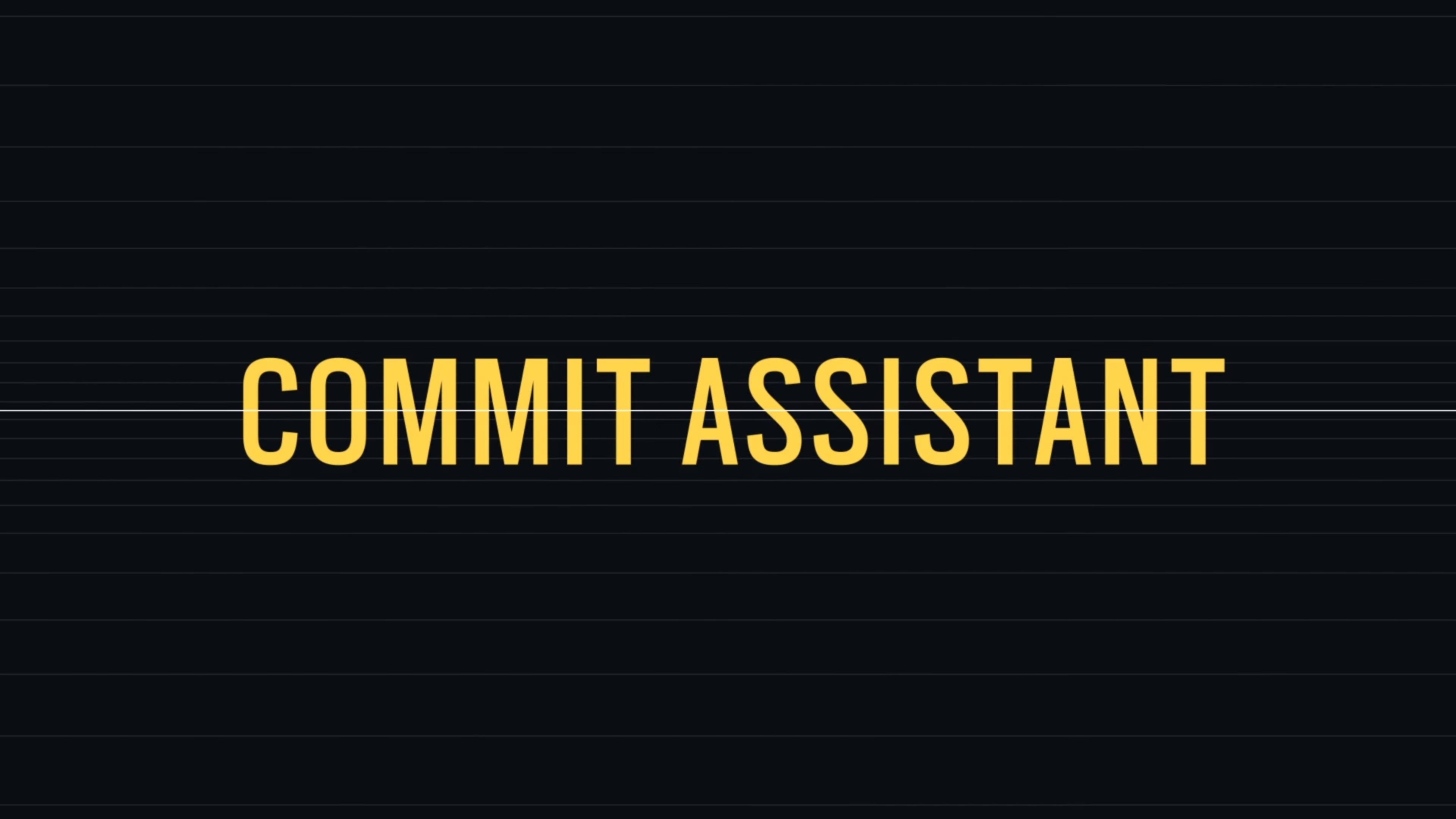 Commit assistant ubisoft