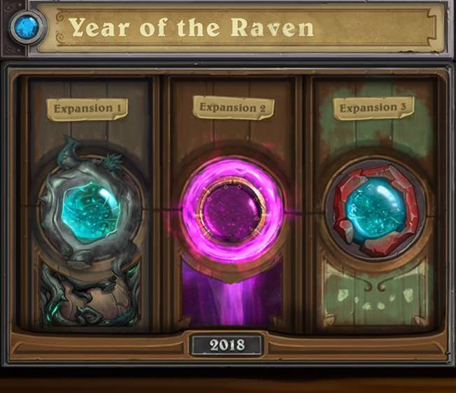 hearthstone year of the raven año del cuervo