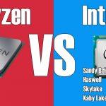 Ryzen 3 1200 vs Intel Pentium G4560
