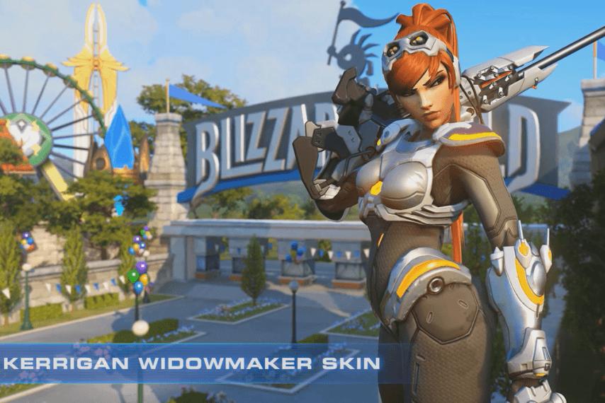 skin gratuita overwatch widowmaker